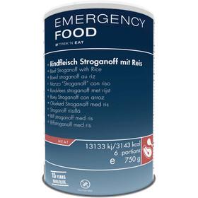 Trek'n Eat Emergency Food Can 750g, Beef Stroganoff with Rice